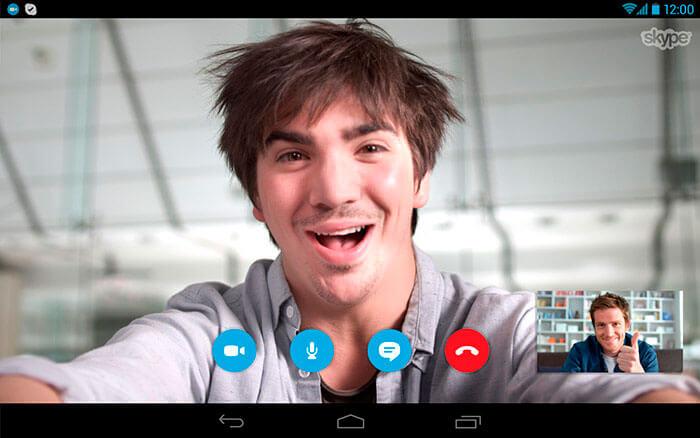 Skype для планшета