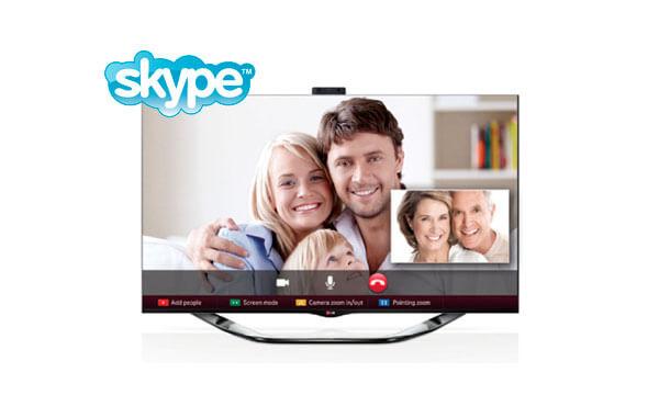Skype для телевизора