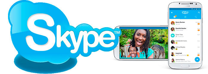Skype на телефон