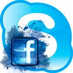 Как войти в Skype через Facebook