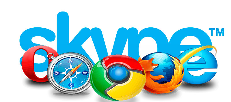 Скайп в браузере - как открыть Skype через браузер